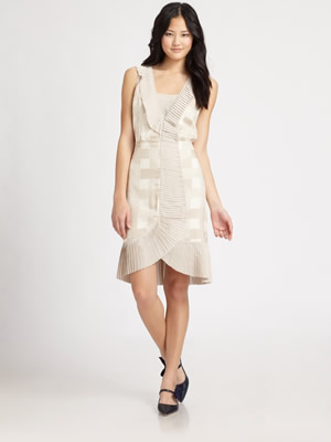 Tory Burch Silk Janetta Dress