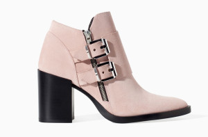 Zara Suede Leather Ankle Boots 1137:301