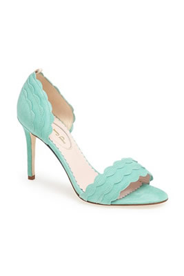 "SJP Shoe ""Bobbie"" Sandal in Mint"