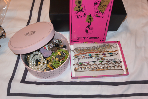Re-Using my Juicy Couture Boxes