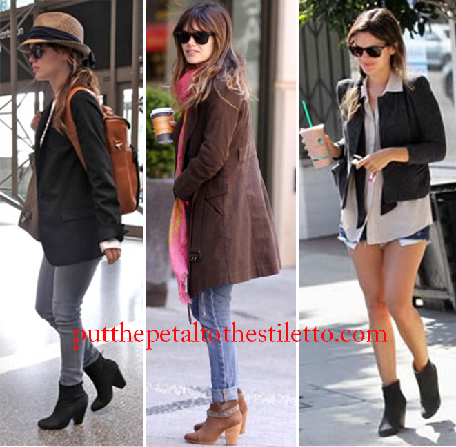 Rachel Bilson in Ankle Booties