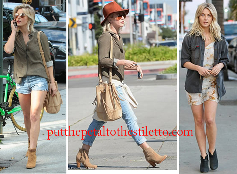 Julianne Hough in Ankle Booties