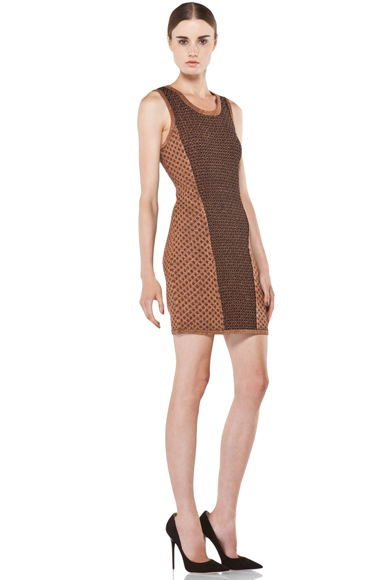 "Rag & Bone ""Amanda"" Copper Dress"