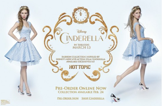 Hot Topic Cinderella Collection